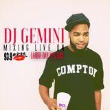 DJ GEMINI LIVE ON 93.9 WKYS LABOR DAY 2018 (PART 1)