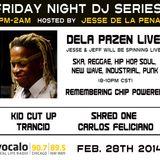 DELA PAZEN LIVE! Chip Powered (Chip Howard) tribute on Vocalo Radio 89.5fm & 90.7fm 02.28.14