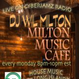 Wil MIlton Live on Cyberjamz Radio 4.3.17 Soulful House Music Show