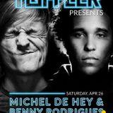TPF presents MICHEL DE HEY w/ HEY!MUZIK 332 B2B BENNY RODRIGUES @TOFFLER