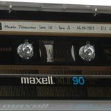 Malesh Düsseldorf Tape III - Side A - 06.08.1983 - D.J. Jan