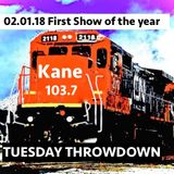 Starting 2018 off the right way! The first Throwdown Show - LARGE!