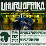 Adam Gibbons Live at the Uhuru Afrika 2016 Afro Brazil Celebration
