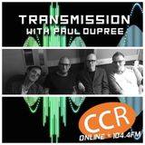 Transmission - guests - The Mighty Small - Stark.- David Arscott - 19/6/19 - CCR 104.4FM