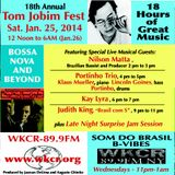 Best of Tom Jobim Festival Part 2 - Interview with Bassist and Producer Nilson Matta,Recorded 1/25/1