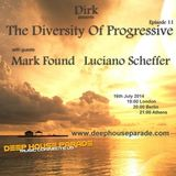 Luciano Scheffer - Guest Mix - The Diversity Of Progressive 11 (16th July 2014) on Deep House Parade