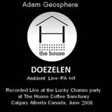 ADAM GEOSPHERE House Coffee Sanctuary Ambient Live PA Set 2008