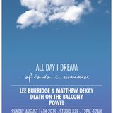 Powel - live at All Day I Dream Of London in Summer, Studio 338, London - 16-Aug-2015