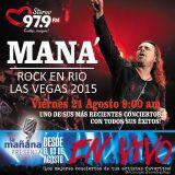 21-08-15 - #LaMañanaPresenta #ENVIVO - #MANA #RockEnRio #LasVegas2015