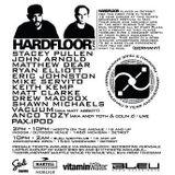 Hardfloor LIVE at Bleu (Detroit - USA) - 1 September 2007
