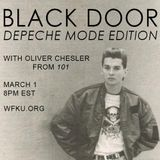 BLACK DOOR: DEPECHE MODE EDITION with Oliver Chesler from 101 (March 1, 2016)