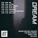 Dream Catalogue - 9th June 2017
