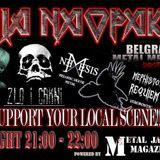Metal show Pila Naopako 12.11.2017 - Kamaradi, Bombarder, Shizofrenia, .....