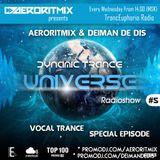 Aeroritmix & Deiman de Dis - Dynamic Trance Universe #05 (Vocal Trance Special Episode) [19.11.2014]