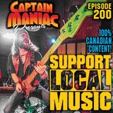 Episode 200 / Support Local Music