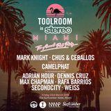 Mark Knight b2b Chus & Ceballos - Live at Toolroom x Stereo, Surfcomber Hotel (WMC 2018, Miami Mus