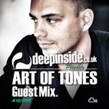 ART OF TONES is on DEEPINSIDE