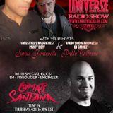 ERL presents THE FREESTYLE UNIVERSE RADIO SHOW!! 04.21.16 EP 17 OMAR SANTANA SHOWCASE!!