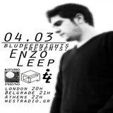 Enzo Leep in BluDeepNights Radio Show on WESTRADIO.GR