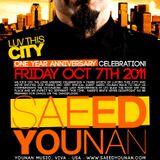 1 hr. Saeed Younan - Live at LUV THIS CITY 1 Year Anv.