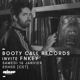 Booty Call Records invite FNKEY on Rinse France 16/01/16