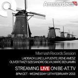 Laidback Luke - Live @ Amsterdam Studio, Mixmash - 13.02.2013