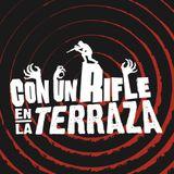 2016-10-21 Con un rifle en la terraza