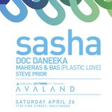 Sasha - Live at Avalon, Hollywood (26-04-2014)