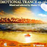 Emotional Trance ep.062(2016) Master dj