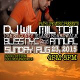 DJ Wil Milton On Cyberjamz Radio 6.1.15 Archive Show