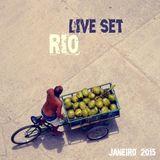 LIVE SET, rio, janeiro, 2015