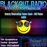Craig Dalzell Live On Blackout Radio (19_02_15) Full Show 01