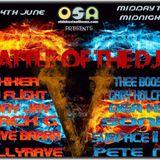 OSA DJ Battle 1/2 Hour 20:00-20:30 4th July 2016
