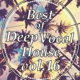 Kevin Lomax - Best of Vocal Deep house vol 16