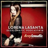 Deeplomatic Recordings - Lorena Lasanta - Podcast 18 - 16/04/15