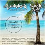 The Spectrum Of Sound by DJ Horizon #7 Summer Pack Mix feat DJ Avec 2015