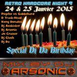 RETRO HARDCORE NIGHT IX mix by ARSONIC 24.I.2oI5