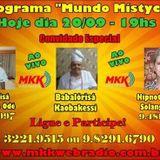 Programa Mundo Mistyco 20/09/2016 Solange Alves, Babalórisá Sergio de Odé e Babalorisa Kaobakessi