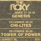 TheRoxy (LA) December 17th 1973