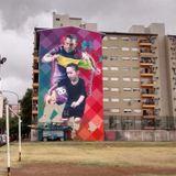 Martin Ron, autor del mural de Tevez en La Boca
