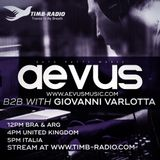 Guto Putti (Aevus)guest mix  for TIMB Radio (Giovanni Varlotta)