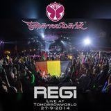 Regi Live At Tomorrowworld 2014