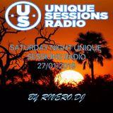 SATURDAY NIGHT UNIQUE SESSIONS RADIO 27/01/2019