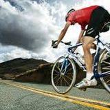 aerobe training on a flat road