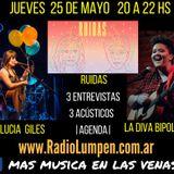 #15 Programa Completo Más Música en las Venas por Radio Lumpen 25 de Mayo