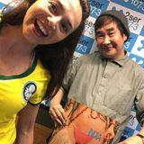Flight 2008..Brasil Oympic Futbol Gold with O Chinos and Isabela Izidro