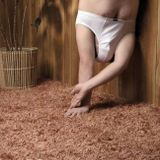 The Man Who Walks Naked At Home