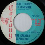NORTHERN SOUL – DON'T FORGET TO REMEMBER