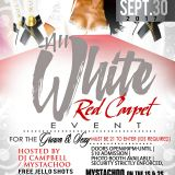 {LIVE SET} All White Red Carpet Event