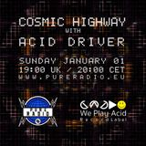 Cosmic Highway @ Pure Radio Holland_Jan2017_PT1
